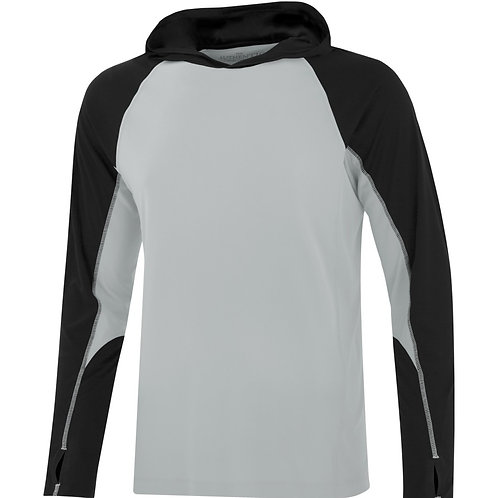 Long Sleeve Hooded Perf Shirt