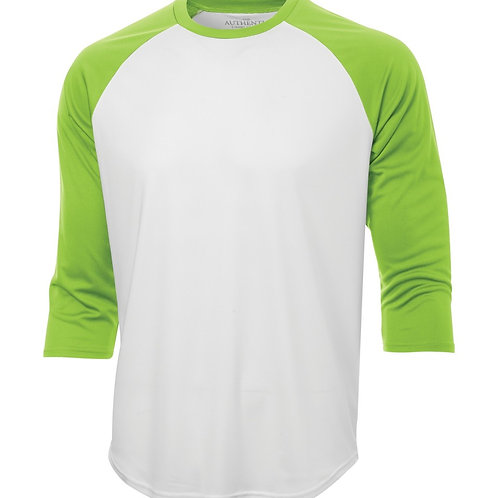 Long Sleeve 3/4 Shirt White Base