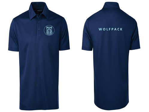WOLFPACK NAVY POLO