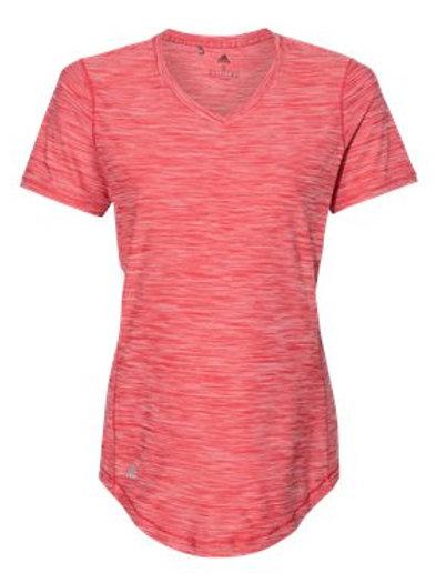 Adi Melange Lady VNeck Tshirt