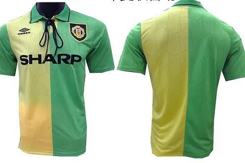 Man United 1992 GreenYellow