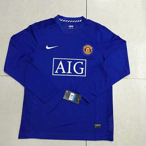 Man United Blue Long Sleeve