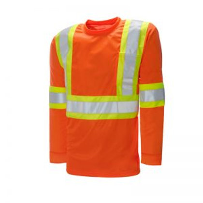 Duo Reflective Safety Shirt Long Sleeve