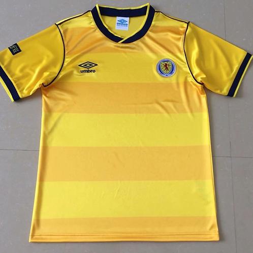 Scotland 1986 Yellow