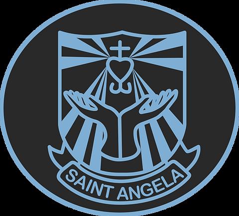 18 St Angela School logo.png