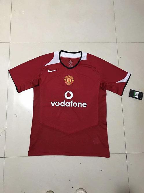 Man United Red Swoosh