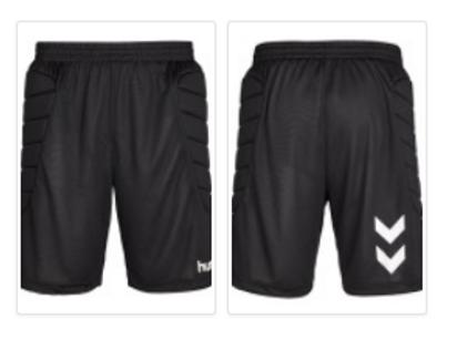 Essential Goalkeeper Padded Shorts