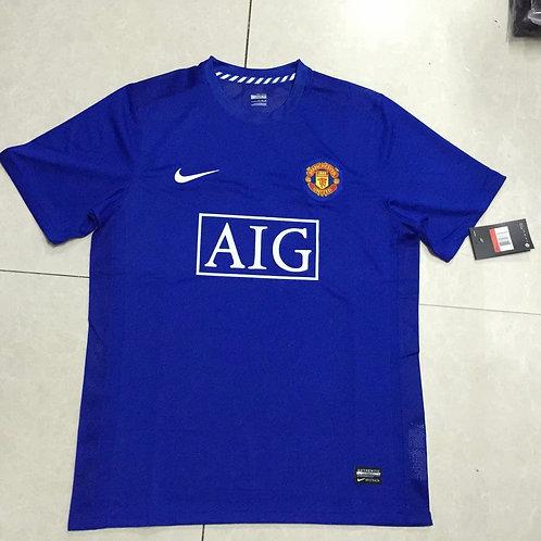 Man United Blue Short Sleeve