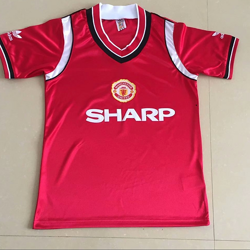Man United 1984 Red