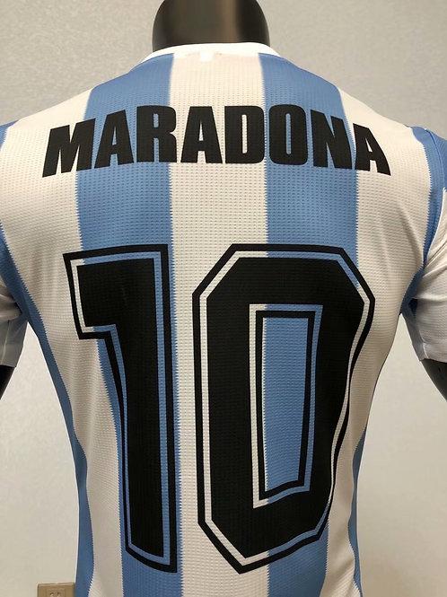 Retro Le Coq Sportif Maradona #10
