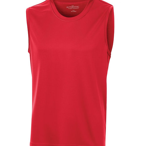 Sleeveles Solid Perf Shirt