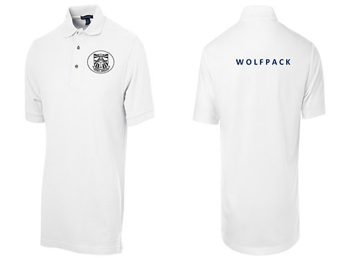WOLFPACK WHITE POLO