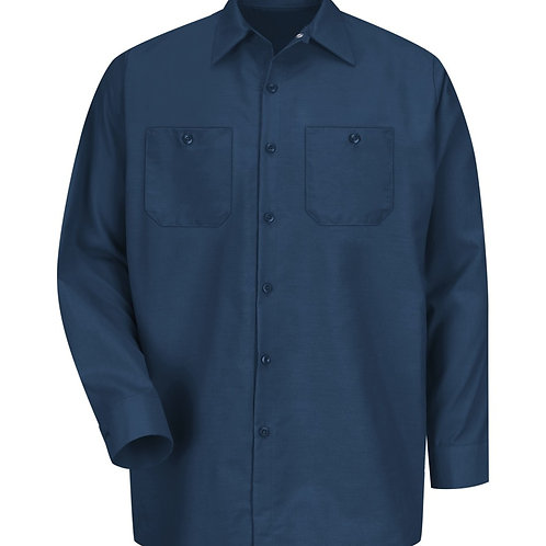 Red Kap Long Sleeve Industrial Shirt