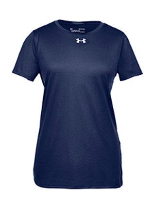 UA Short Sleeve Lady Locker T