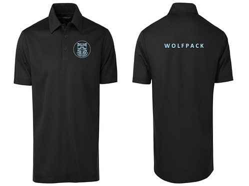 WOLFPACK BLACK POLO