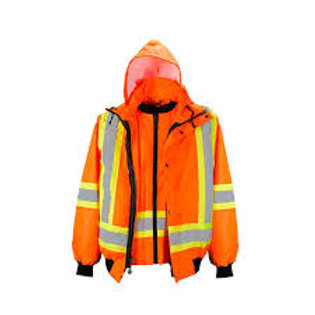 Duo Reflective Safety 6 in 1 Parka