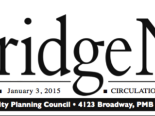 Two (count 'em!) articles in the Rockridge News