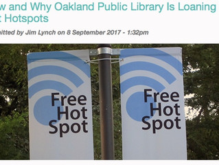 You can check out the Internet at the library