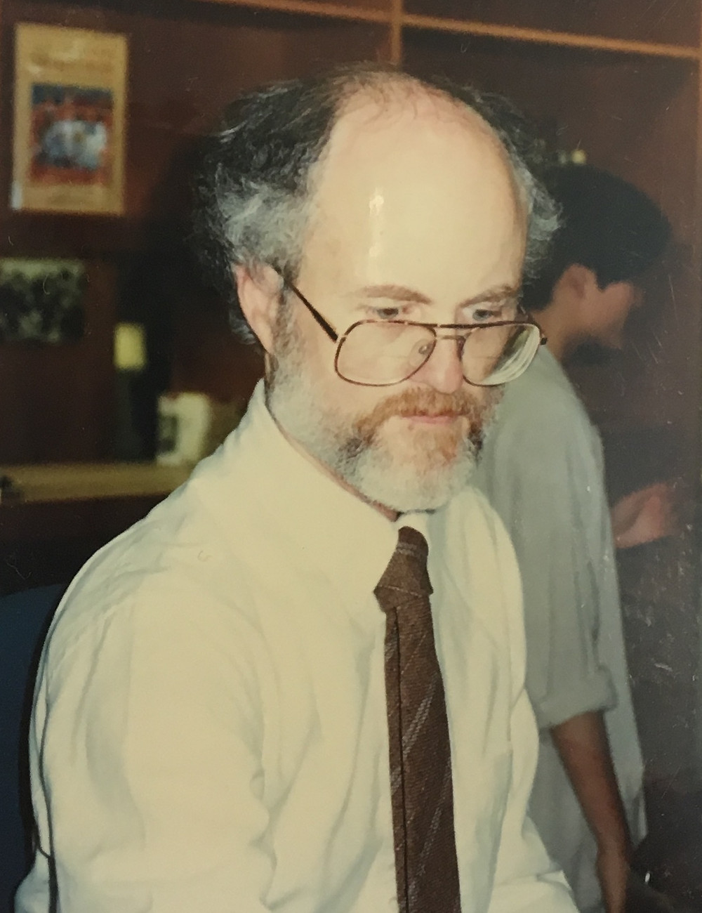 Alan on opening day of the current building in 1996