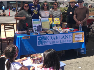 The Rockridge Library gets Out & About
