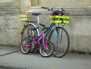 If you dream of biking to the library...