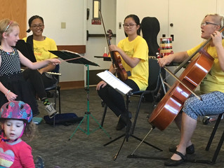 Summer sounds fill the library