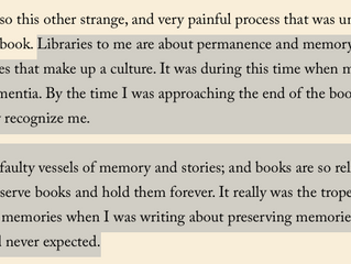 Libraries: permanence and memory