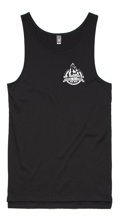 S.A Brothers Wolf Singlet