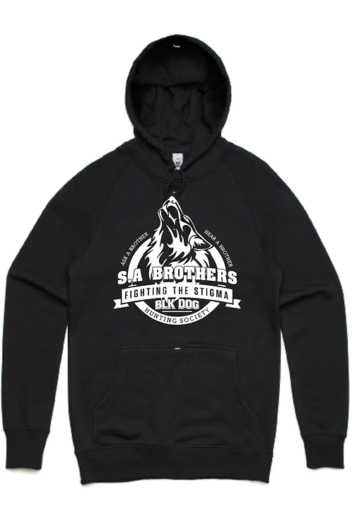 S.A Brothers Wolf Hoodie