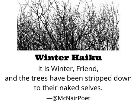 Poem a Day December #12