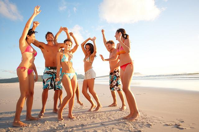 fiesta playa