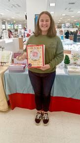 Meeting Brianna Sanborn at Quantico, VA Book Signing