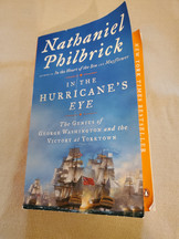 """AFRH Book Club on """"In The Hurricane's Eye"""" by Nathaniel Philbrick"""