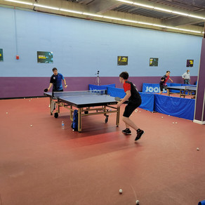 Thursday Lesson and Frolics at Maryland Table Tennis Center, Gaithersburg, MD