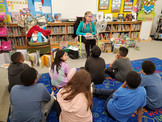 RIF Charles R. Drew Elementary School, Arlington, Virginia Book Reading.