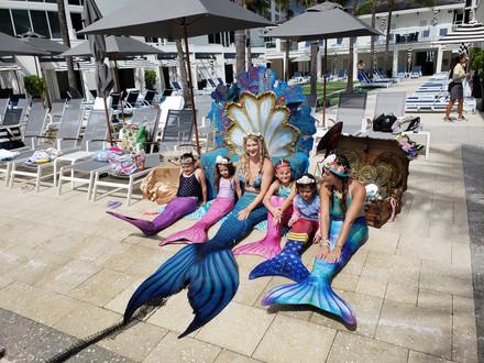MERMAID PARTY BOCA BEACH CLUB