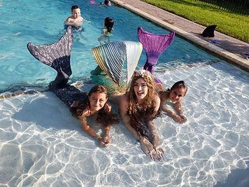 Mermaid Party Mermaid tails