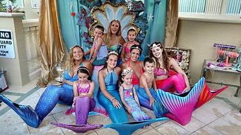mermaid party in Boca Raton