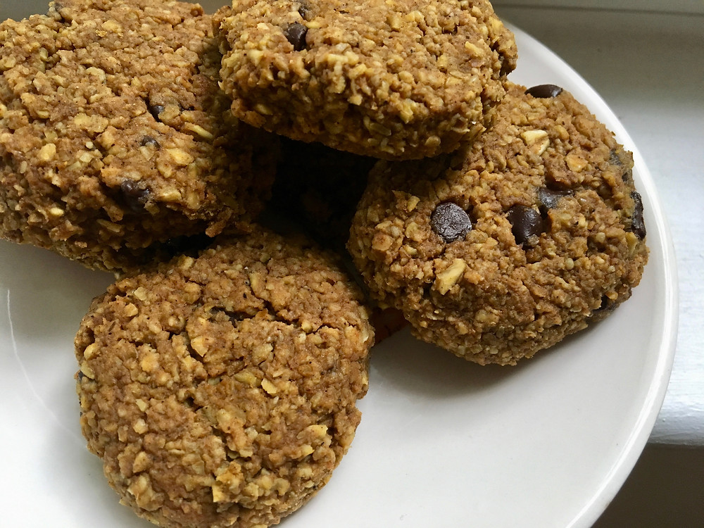 healthy pumpkin breakfast cookies