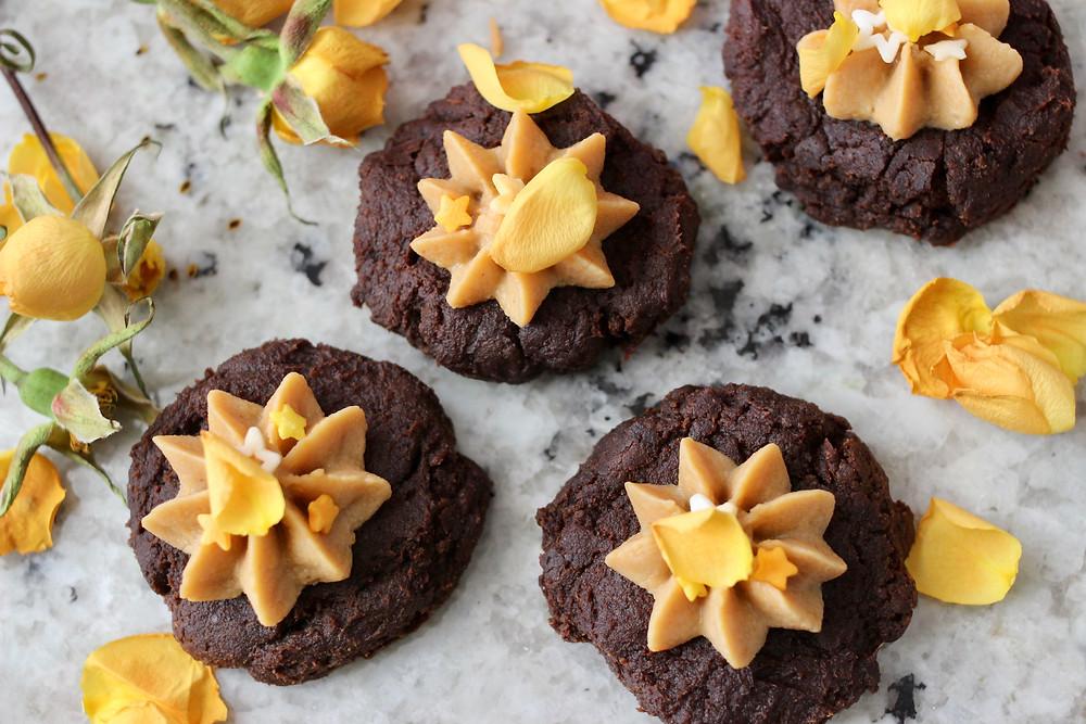 healthy pumpkin protein cookies