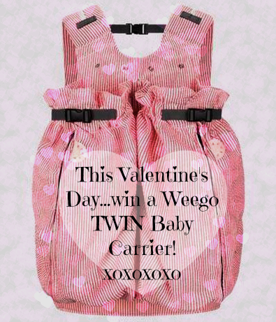 weego free baby carrier giveaway