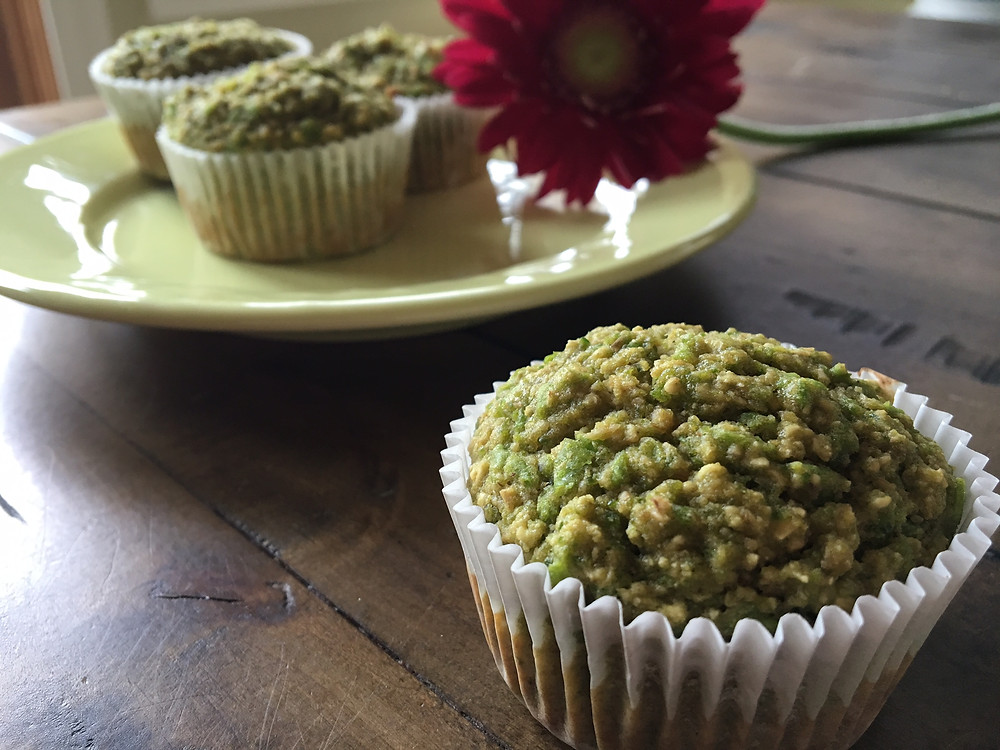 sweet pea muffins