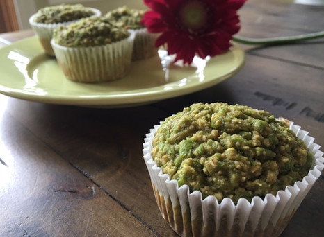 Sweet Pea Muffins
