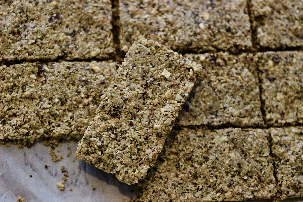 gluten-free vegan homemade granola bars