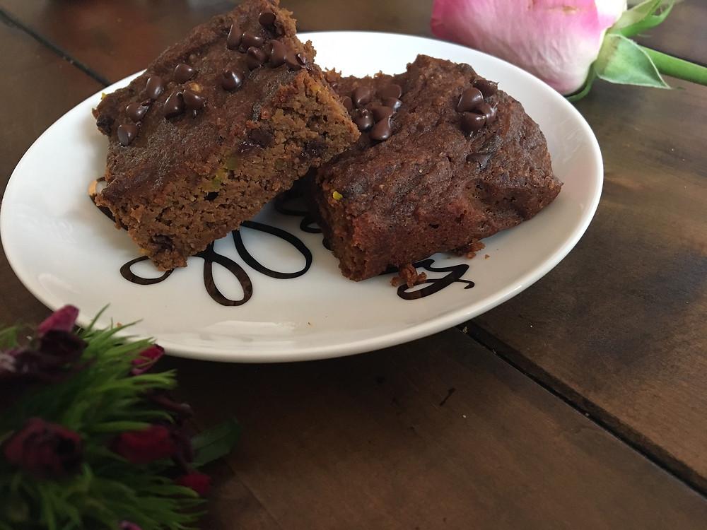 cinnamon squash brownie
