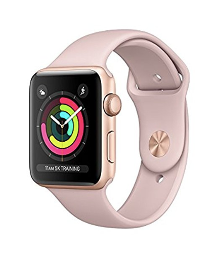 rose gold fitness watch apple watch