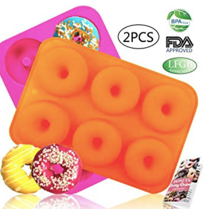 silicone baking pan for donuts
