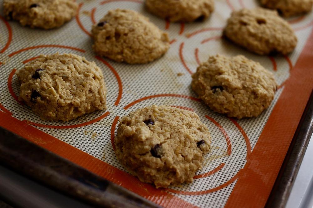 healthy garbanzo bean cookies