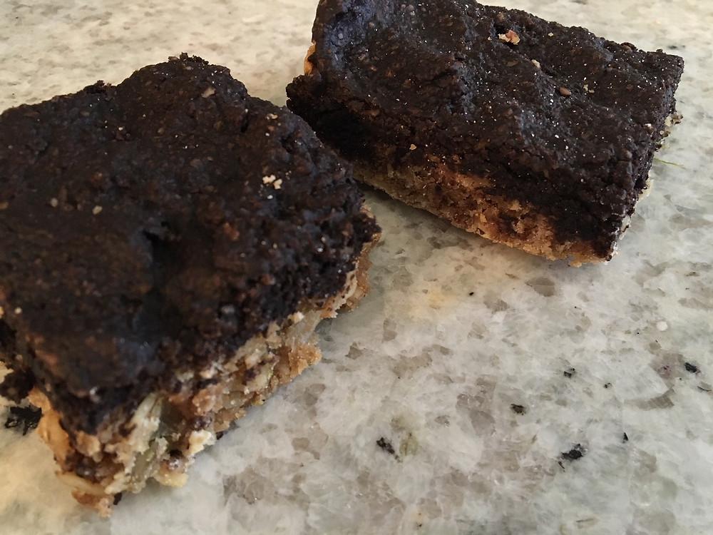 healthy brookie brownie cookies