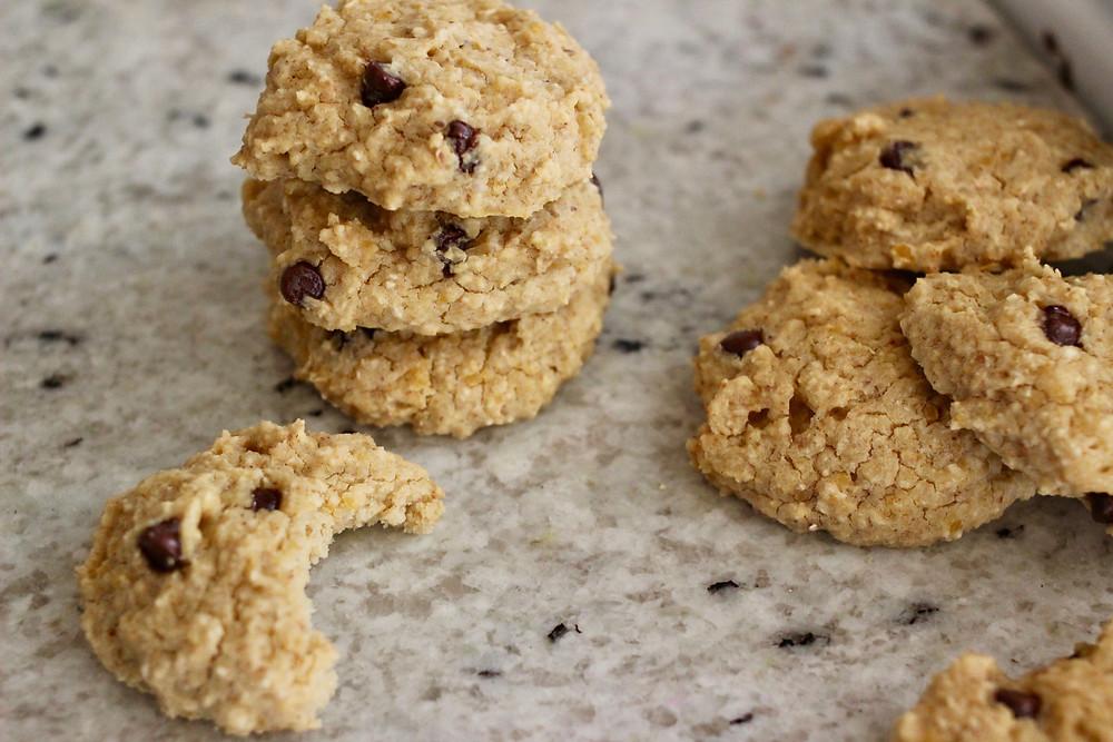 gluten-free vegan option chickpea cookies